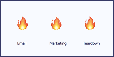 Email Marketing Teardown – Product Hunt